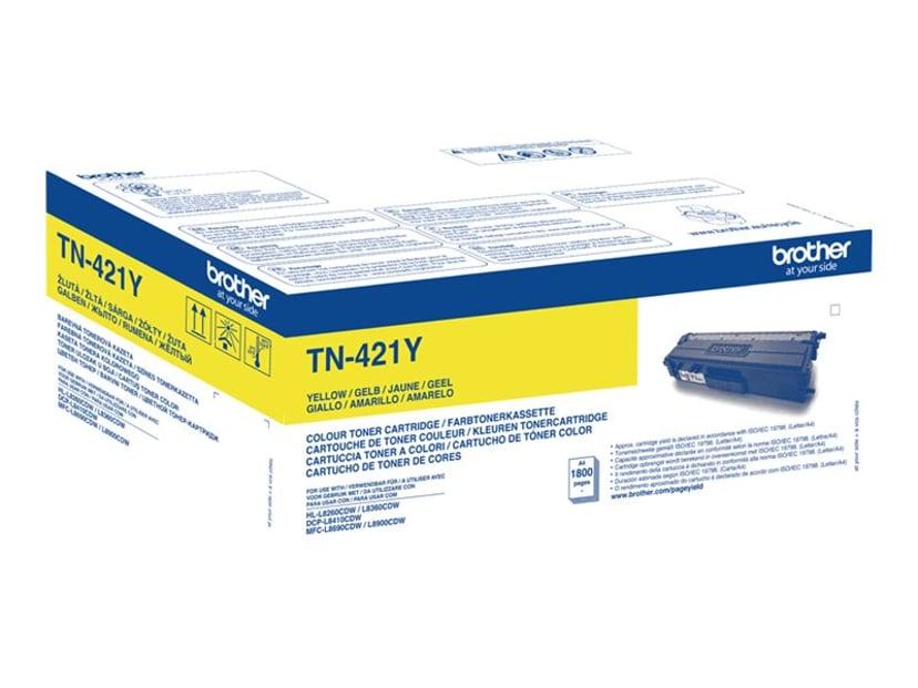 Brother Toner Gul TN-421Y 1,8K - DCP-L8410/Hl-L8260