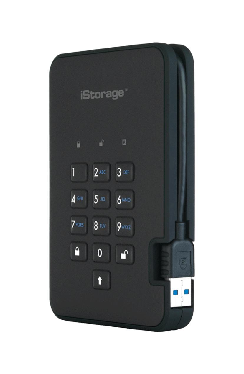Istorage Diskashur2 SSD 256-bit 1TB Sort