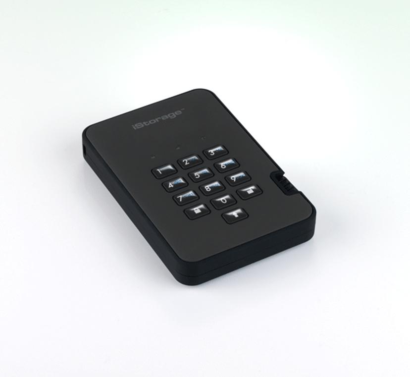 Istorage Diskashur2 SSD 256-bit 0.5TB Sort