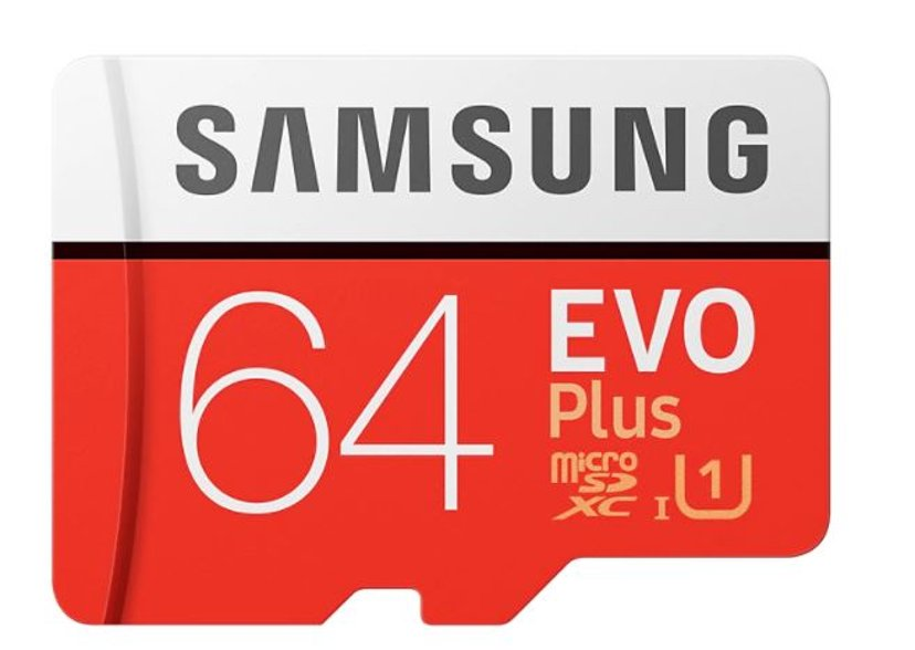 Samsung EVO Plus 64GB microSDXC UHS-I Memory Card