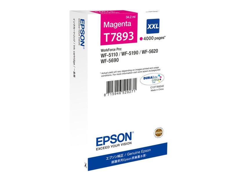 Epson Bläck Magenta T7893 XXL