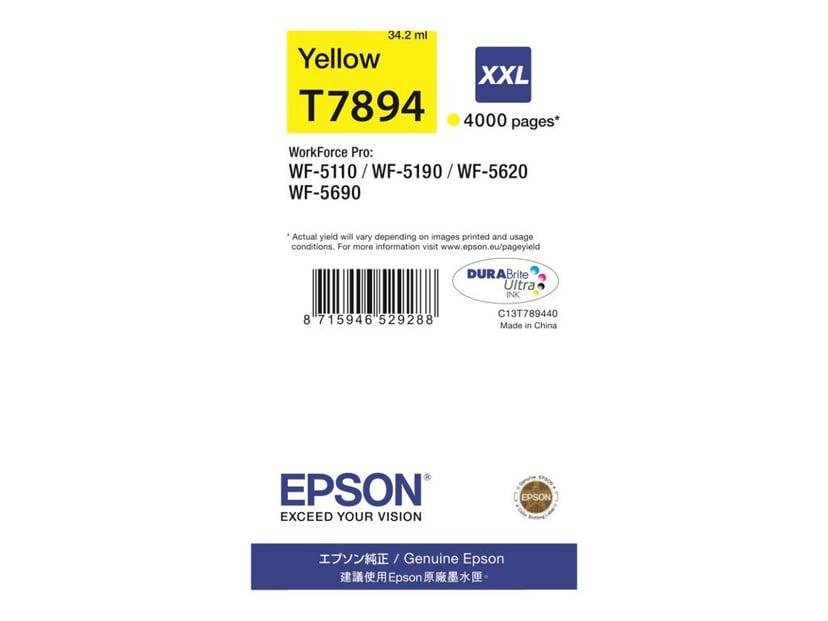 Epson Blekk Gul T7894 XXL