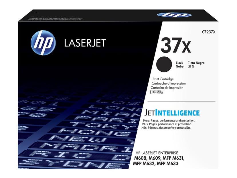 HP Toner Svart 37X - CF237X