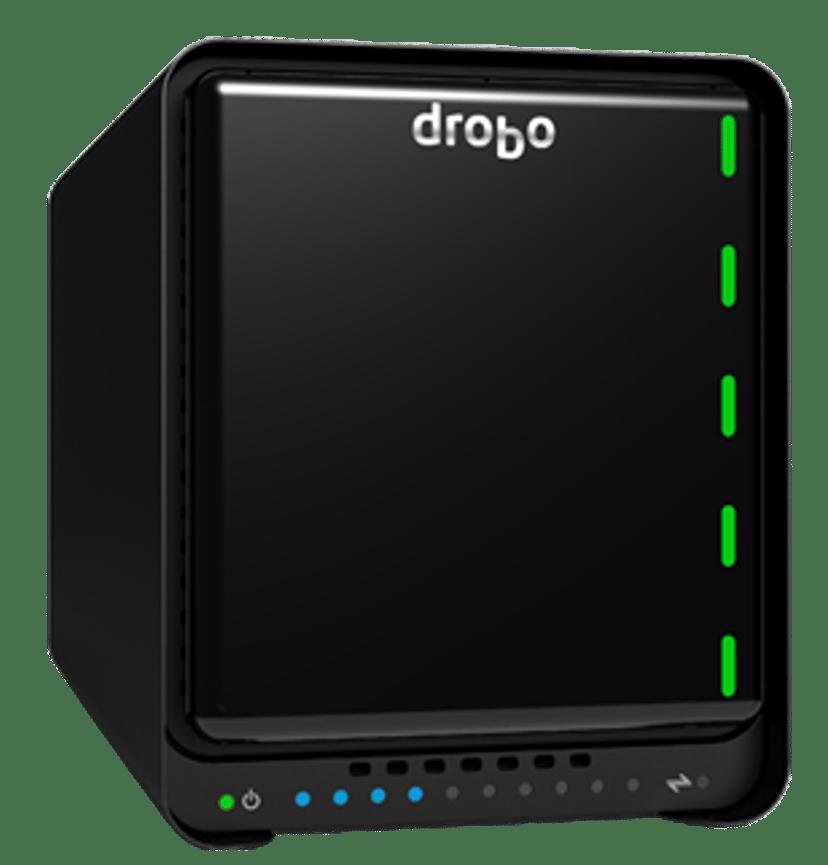 Drobo 5D3 5-Bay Storage Array Serial ATA-600 Svart