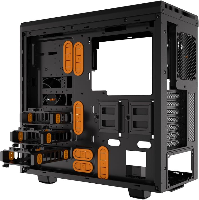 be quiet! PURE BASE 600 Window Orange; Svart
