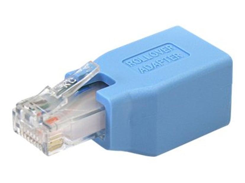 Startech Cisco Console Rollover Adapter for RJ45 Ethernet Cable RJ-45 Hann RJ-45 Hunn Blå