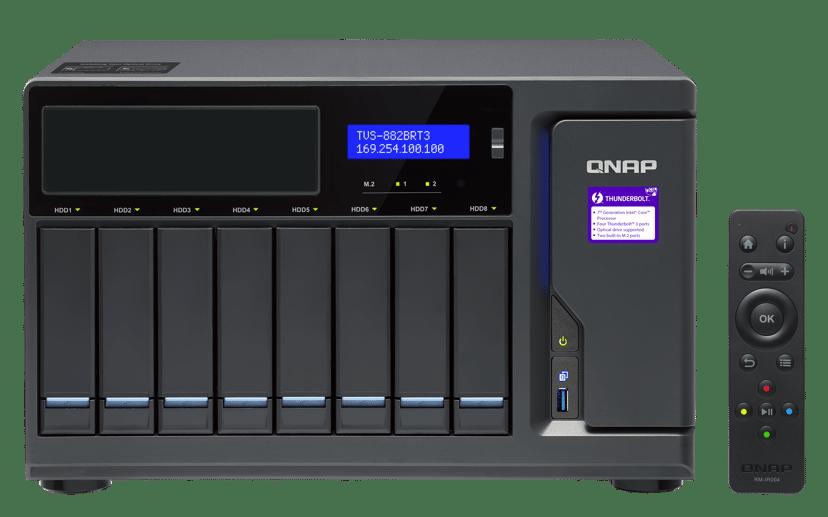 QNAP TVS-882BRT3 i5 16GB 0TB NAS-server