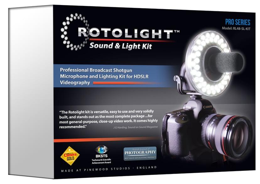 Rotolight Rl48 Sound And Light Kit