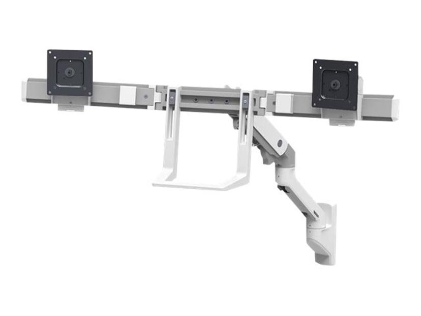 Ergotron HX Wall Dual Monitor Arm Hvit