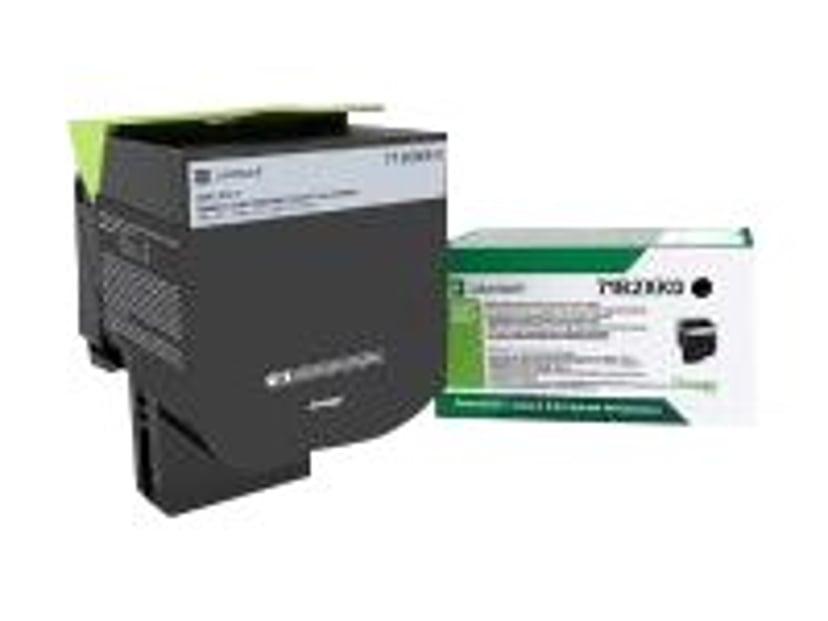 Lexmark Toner Svart 8K - CS/Cx417 Return