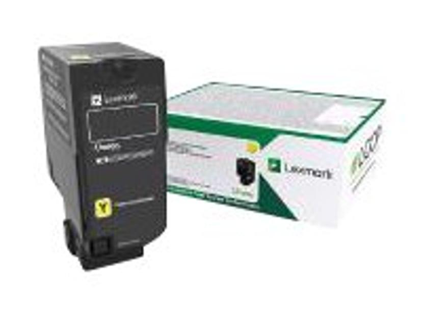 Lexmark Toner Gul 10K - CS/Cx727/CS728 Return
