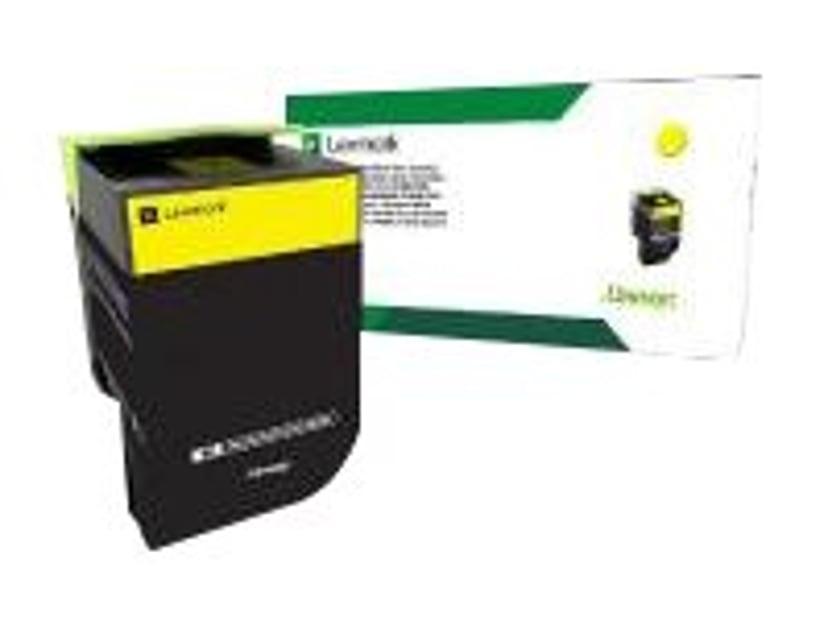 Lexmark Toner Gul 2.3K - CS/CX317/417/517 Return