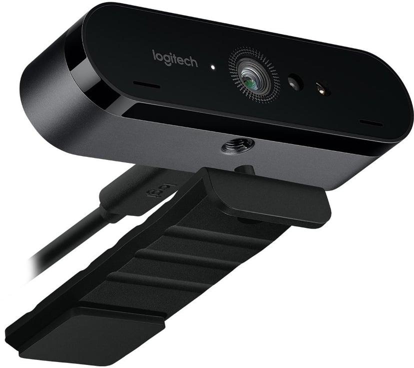 Logitech BRIO STREAM 4096 x 2160 Webbkamera Svart