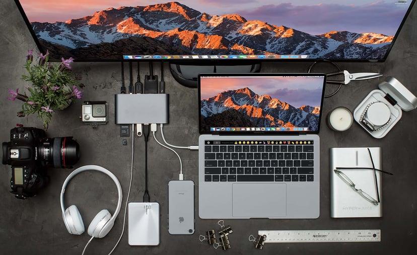 Hyper HyperDrive Ultimate Mini-dockningsenhet USB-C