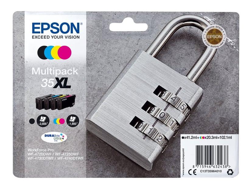 Epson Blekk Multipack (C/M/Y/K) 35XL - WF-4730