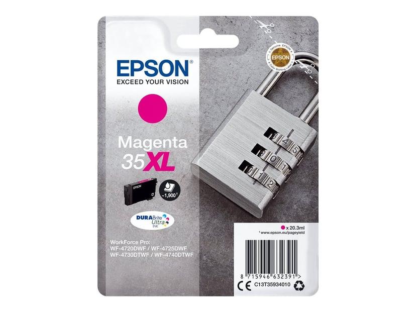 Epson Blæk Magenta 35XL 20.3ml - WF-4730