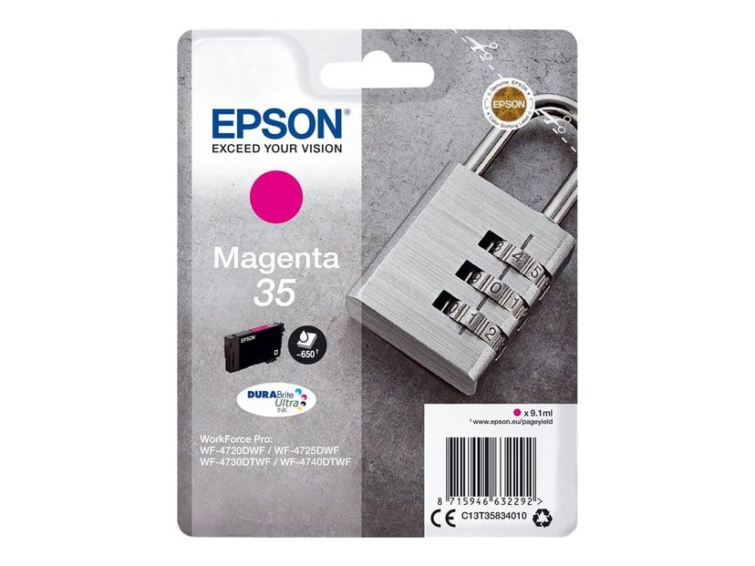 Epson Blæk Magenta 35 9.1ml - WF-4730
