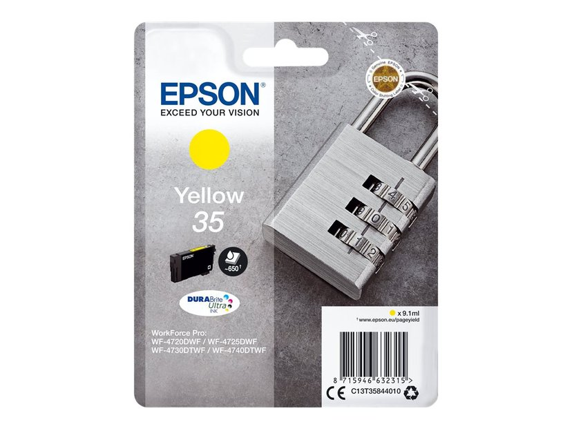 Epson Blekk Gul 35 9.1ml - WF-4730