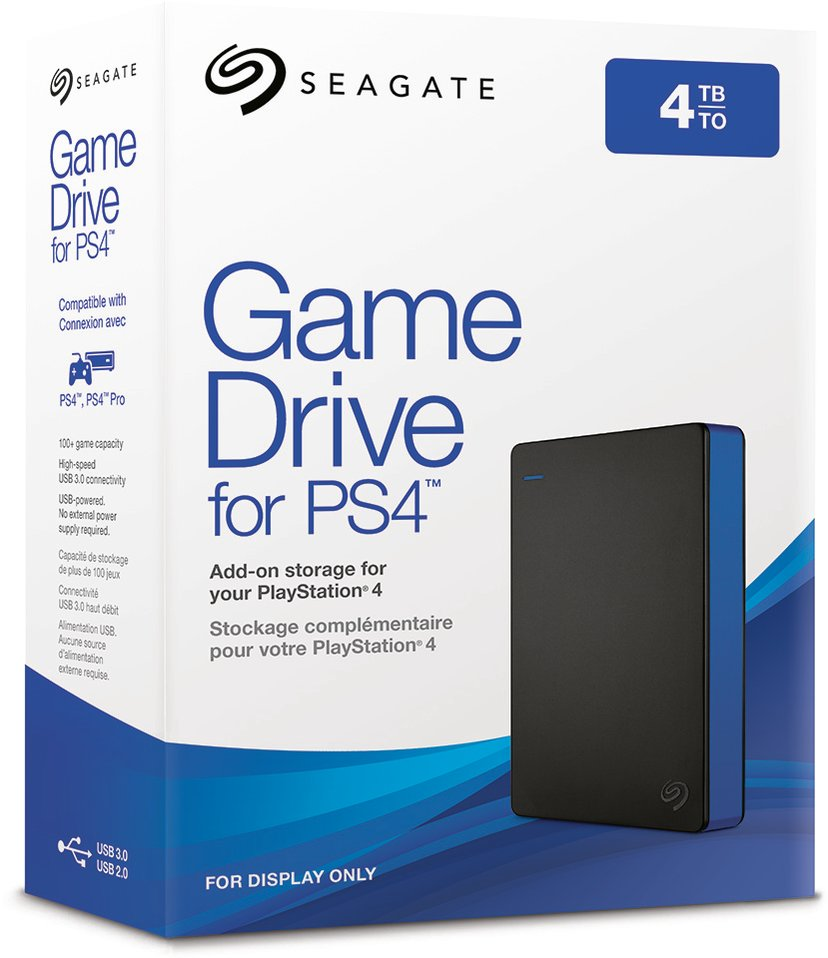 Seagate Game Drive for PS4 STGD4000400