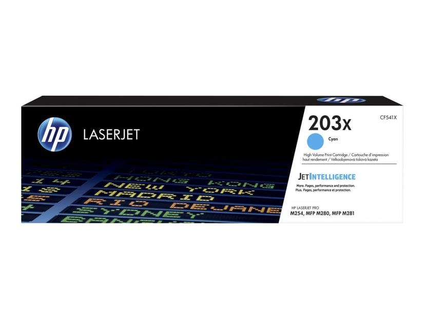 HP Värikasetti Syaani 203X 2.5K - CF541X