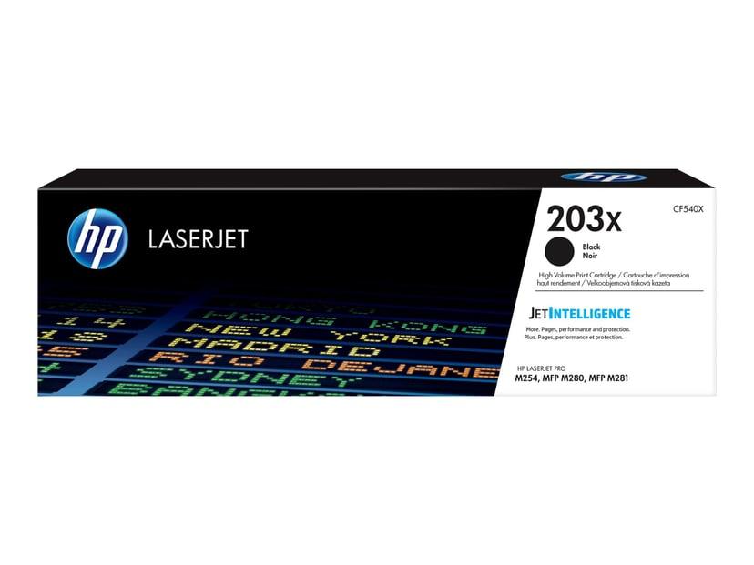 HP Värikasetti Musta 203X 3.2K - CF540X