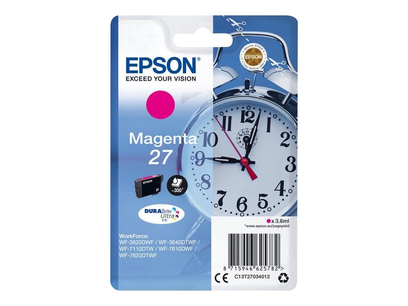 Epson Blæk Magenta 27