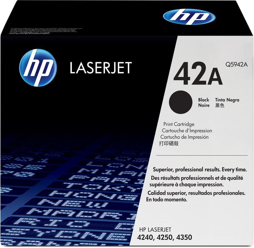 HP Värikasetti Musta 10K - Q5942A