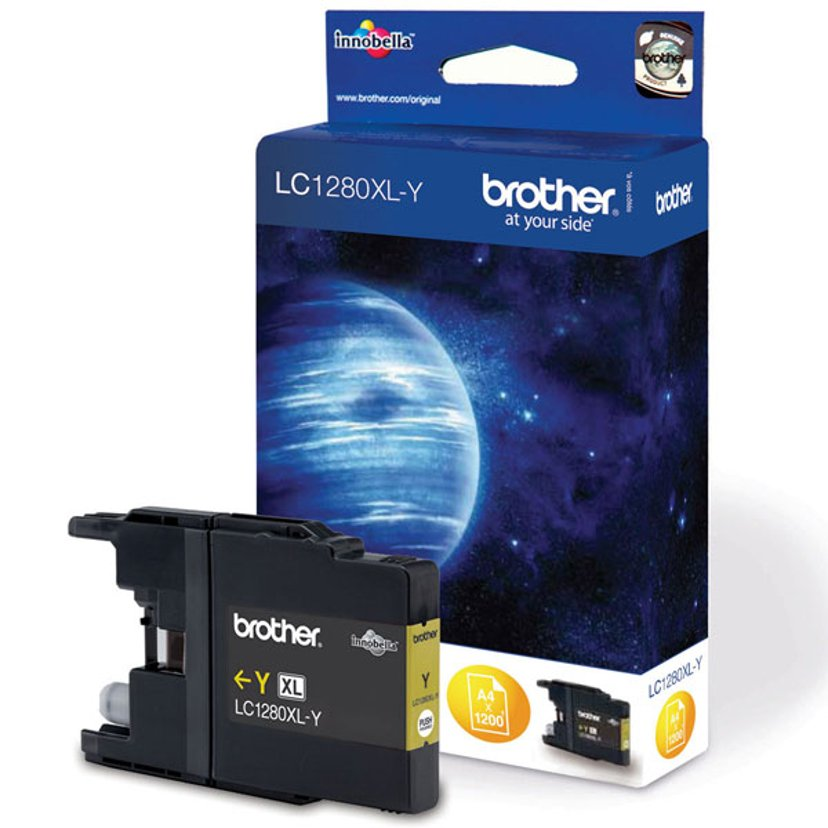 Brother Inkt Geel LC1280XLY - MFC-J6510DW