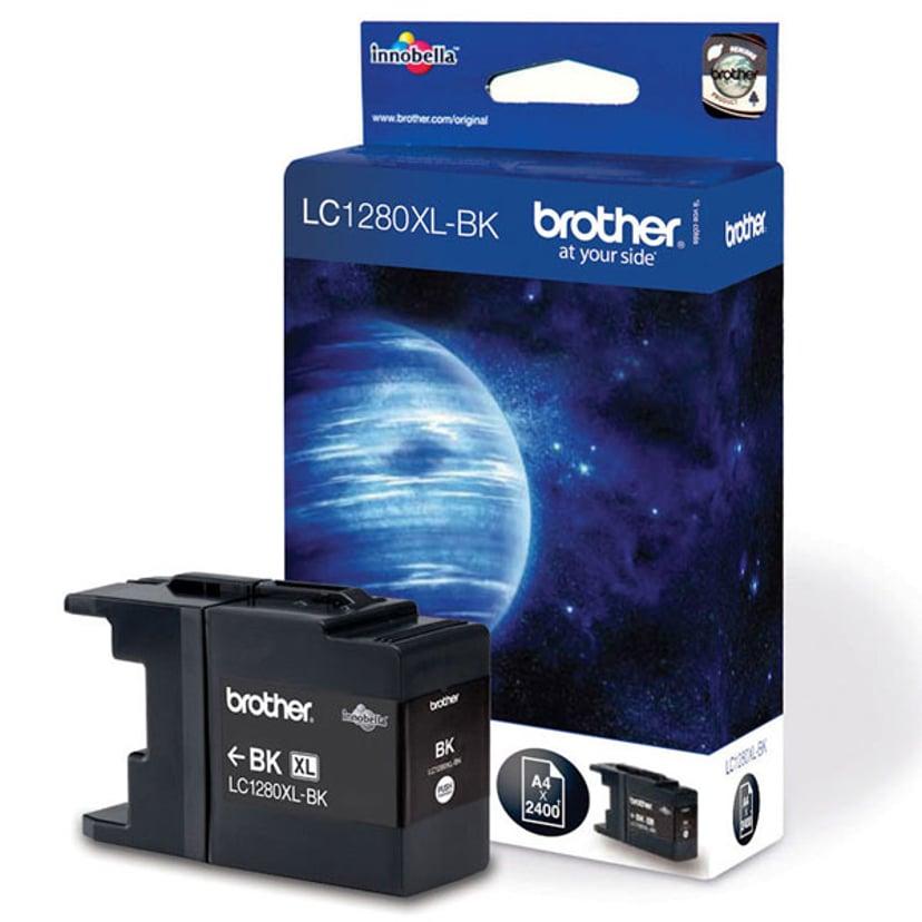 Brother Bläck Svart LC1280XLBK - MFC-J6510DW