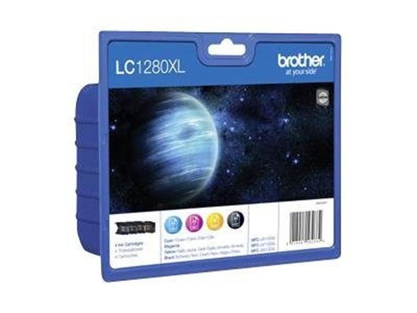Brother Bläck Kit (B/C/Y/M) LC1280XLVALBPDR - MFC-J6510DW