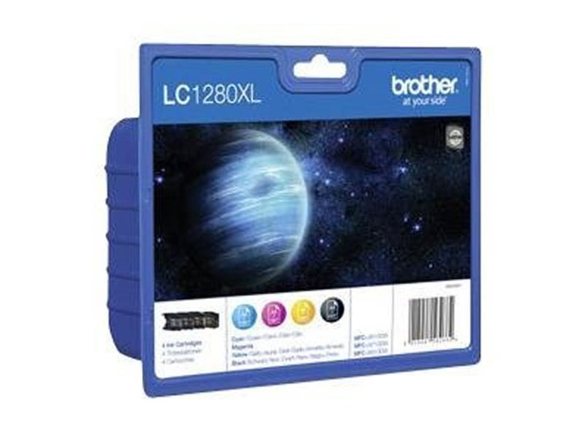 Brother Inkt Kit (B/C/Y/M) LC1280XLVALBPDR - MFC-J6510DW