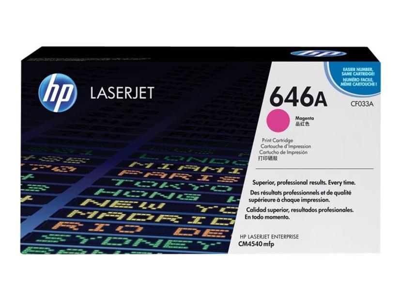 HP Toner Magenta 646A 12.5K - CF033A