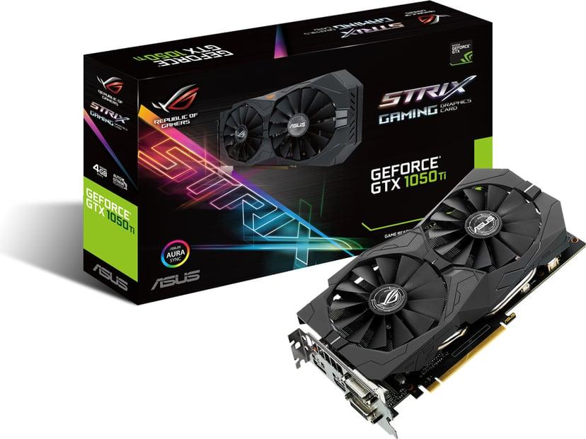 ASUS GeForce GTX 1050 Ti ROG Strix Gaming 4GB