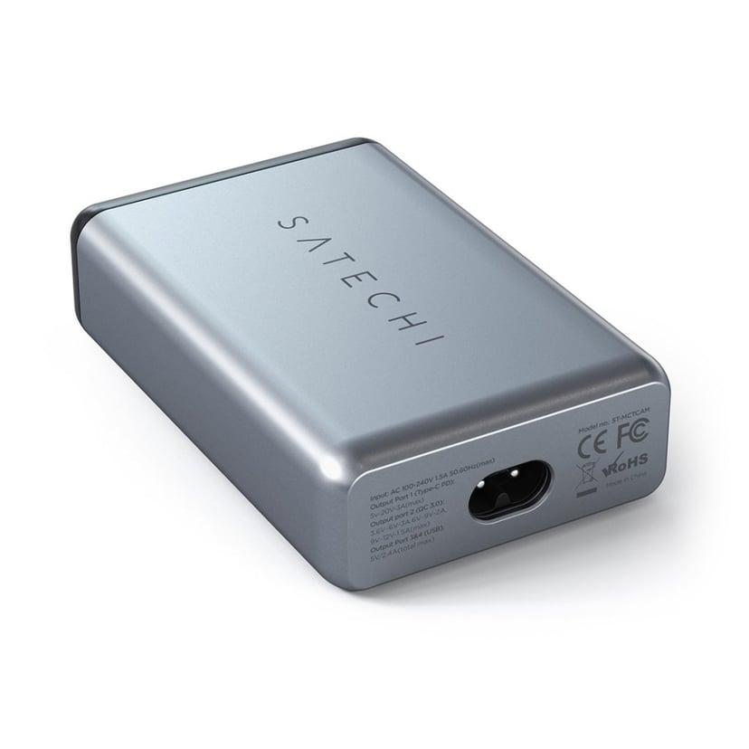 Satechi Reseladdare USB-C 75W Space Gray
