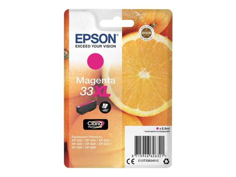 Epson Blekk Magenta Claria Premium 33XL - XP-530