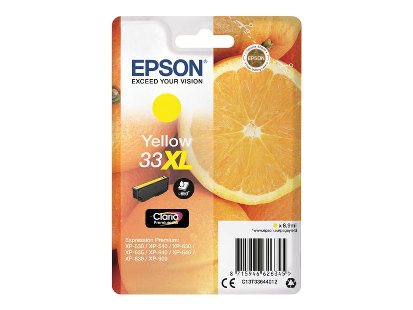 Epson Blekk Gul Claria Premium 33XL - XP-530 #Köp