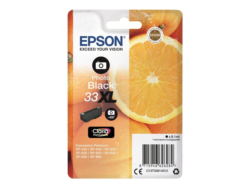 Epson Blekk Foto Svart Claria Premium 33XL - XP-530
