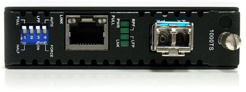 Startech 1000 Mbps Gigabit Single Mode Fiber Media Converter LC 40 km
