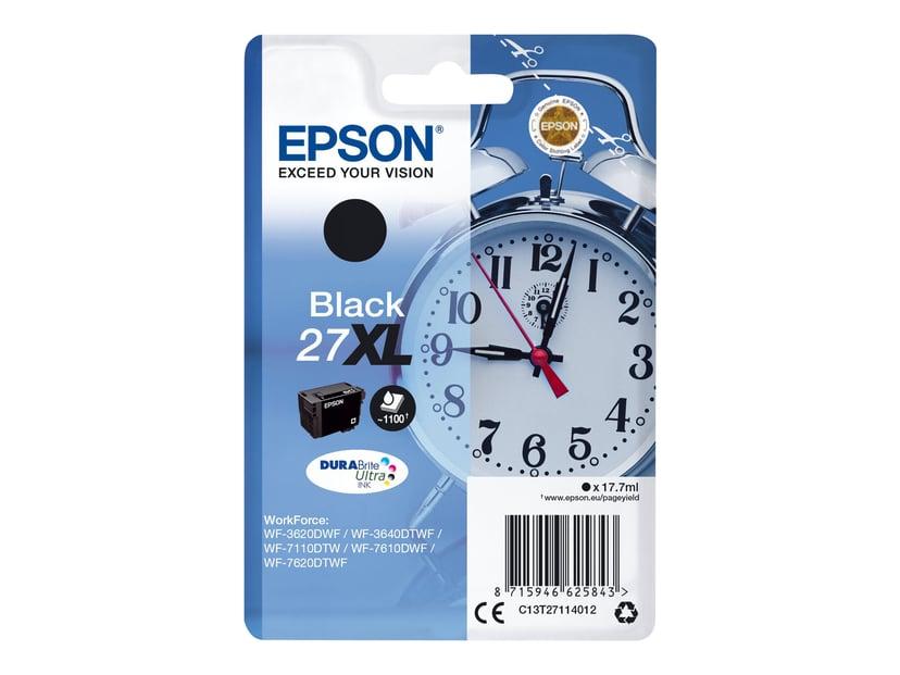 Epson Blæk Sort 27XL