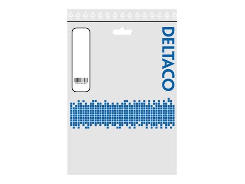 Deltaco Koblingskabel 10m BNC Hann BNC Hann