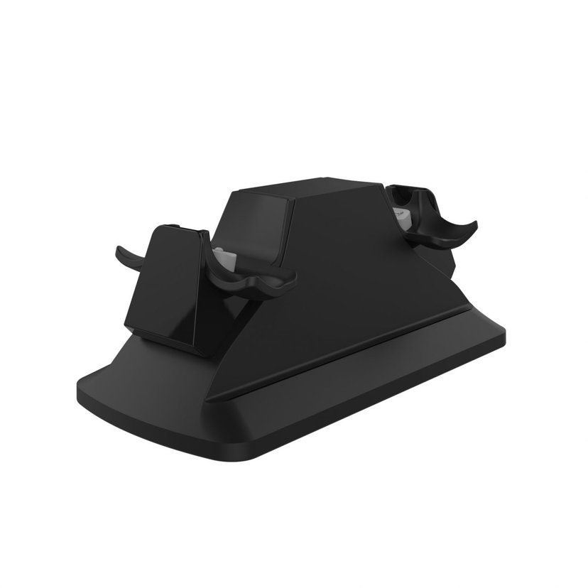 Piranha Gamer Dual Charger Svart