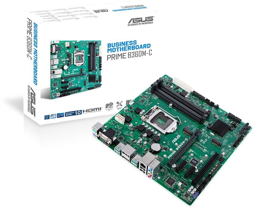 ASUS Prime B360M-C Micro-ATX Bundkort