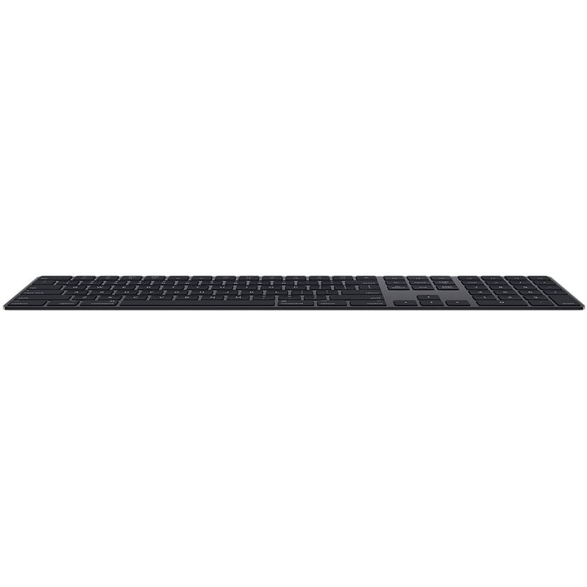 Apple Magic Keyboard with NumPad Trådløs Tastatur Dansk Grå