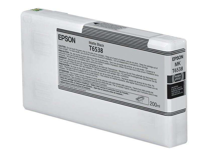 Epson Bläck Matt Svart T653 - STYLUS PRO 4900 200ml