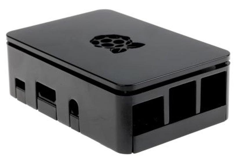 Designspark Chassi For Raspberry Pi 3 B+ Black