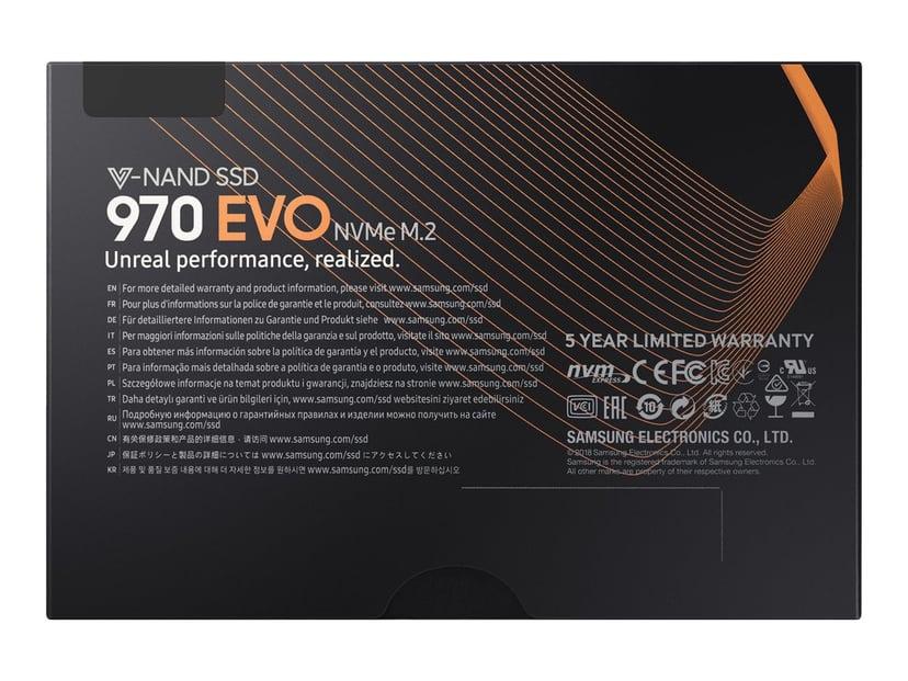 Samsung 970 Evo 1000GB M.2 2280