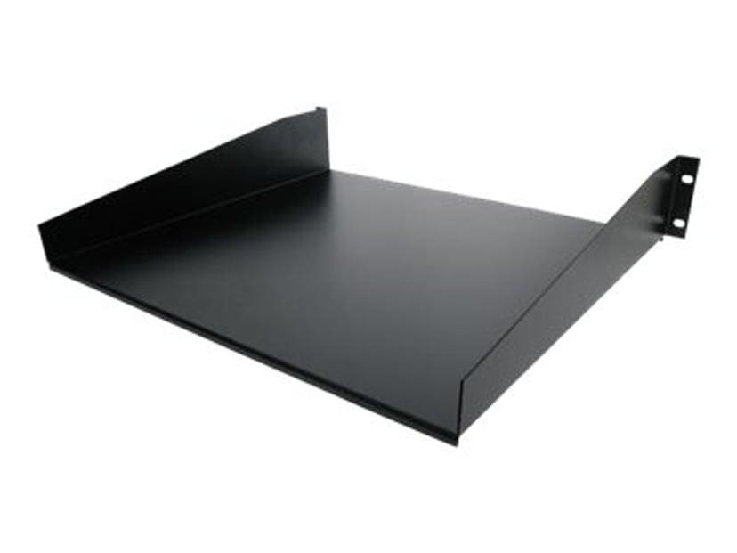 "Startech Black Standard Universal Server Rack Cabinet Shelf 19"" 20kg"
