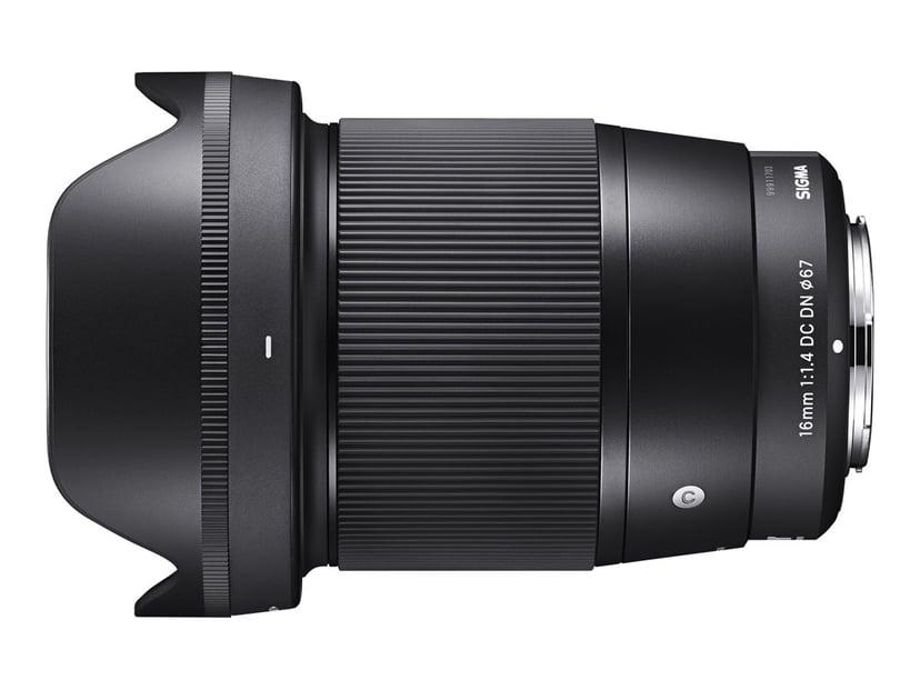 Sigma 16 mm F/1.4 DN DC Contemporary Sony E