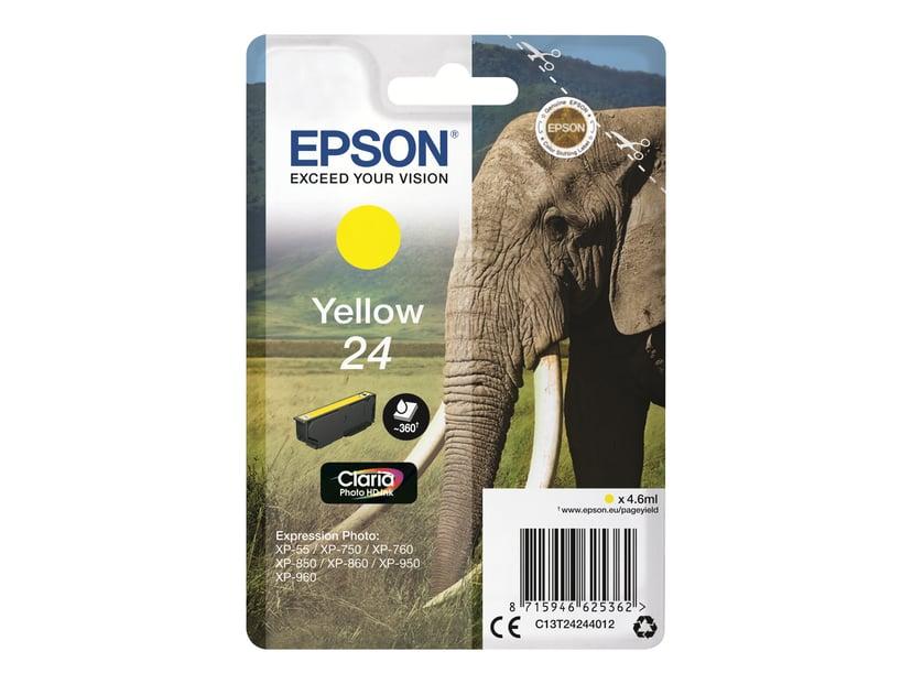 Epson Bläck Gul 24 - XP-850