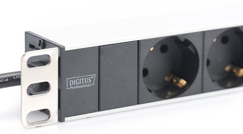 Digitus DN-95401 Grendosa för rack Ström 8st